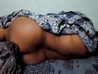Smart Indian Busty Aunty taking rest Nudely after fucking